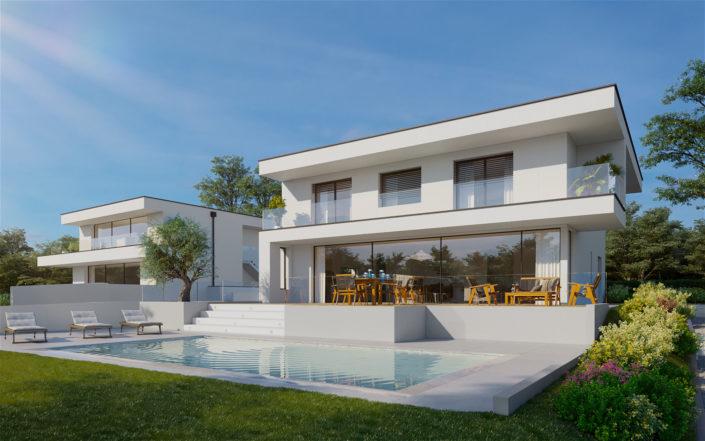 Préverenges - Villa avec piscine